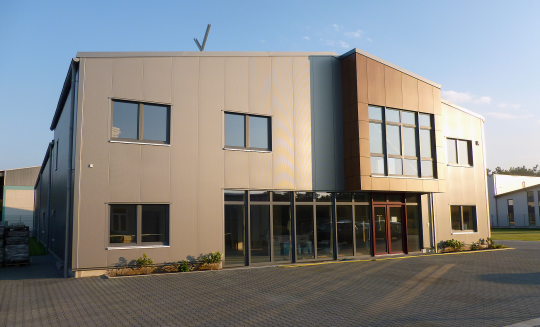 Legden Firmengebäude _ Scharlau